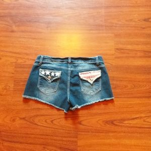 Shorts Jean Stars and stripes.. Junior size 7/8